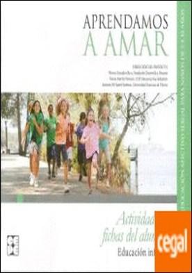 APRENDAMOS A AMAR INFANTIL ACTIVIDADES Y FICHAS AL
