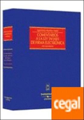Comentarios a la Ley 59/2003 de Firma Electrónica