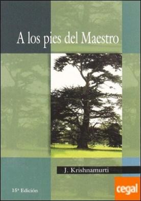 A LOS PIES DEL MAESTRO Antigua Edicion