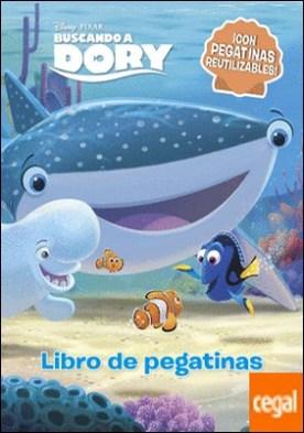 Buscando a Dory. Libro de pegatinas . ¡Con pegatinas reutilizables! por Disney