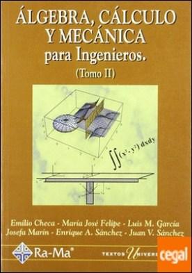 Algebra, Cálculo y Mecánica para Ingº/II