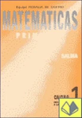 Cálculo, iniciación a la suma, Educación Primaria por EQUIPO ROSALIA DE CASTRO PDF