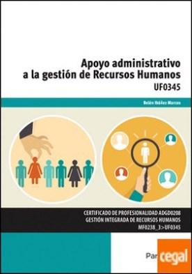 Apoyo administrativo a la gestión de recursos humanos