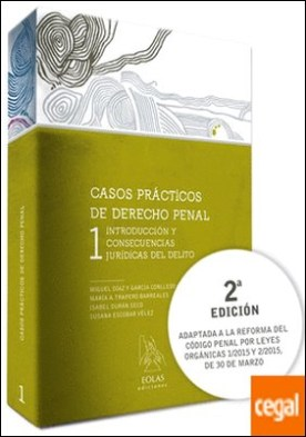 CASOS PRÁCTICOS DE DERECHO PENAL 1 . INTRODUCCIÓN Y CONSECUENCIAS JURÍDICAS DEL DELITO