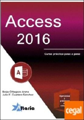 Access 2016 por Orbegozo Arana, Borja PDF
