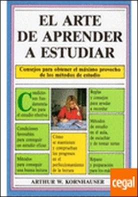459. ARTE DE APRENDER A ESTUDIAR. RCA.