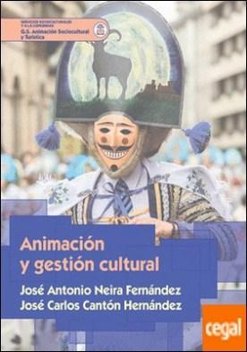 Animación y gestión cultural por Neira Fernández, José Antonio PDF