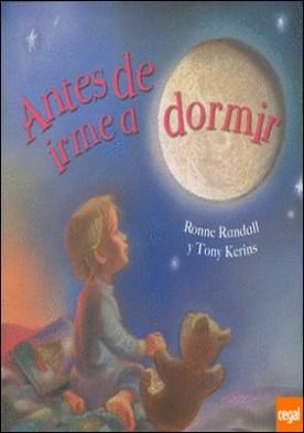 ANTES DE IRME A DORMIR