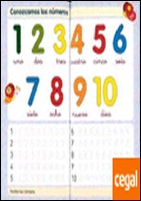 Aprendo números y a escribir Nº 1 por Todolibro, Equipo