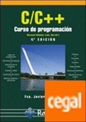 C/c++. Curso de programación. 4ª edición por Ceballos Sierra, Fco. Javier PDF