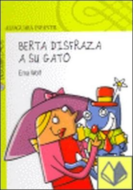 BERTA DISFRAZA A SU GATO
