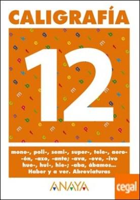 Caligrafía 12.