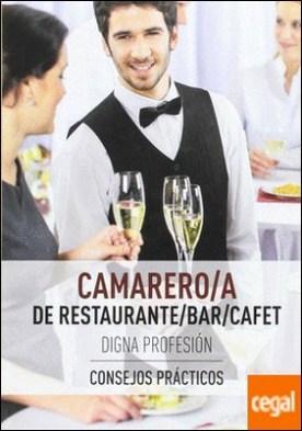 CAMARERO/A DE RESTAURANTE/BAR/CAFETERÍA