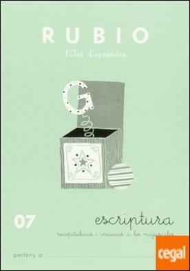 07 escriptura rubio recapitulacio i iniciacio a les majúscules por Rubio Polo, Enrique PDF