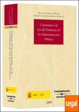 Comentarios a la Ley del Patrimonio de las Administraciones Públicas