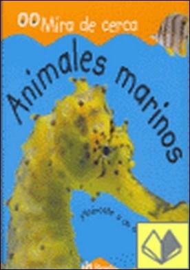 Animales marinos . ¡Acércate a un arrecife de coral!