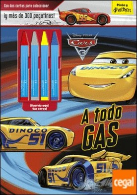 Cars 3. A todo gas . Con dos cartas para coleccionar ¡y más de 300 pegatinas!