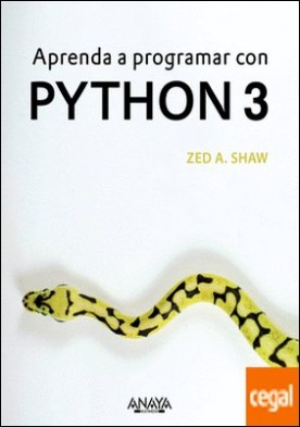 Aprenda a programar con Python 3