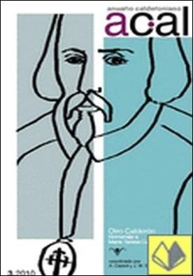 Anuario calderoniano . 3 (2010) : Otro Calderón : Homenaje a Maria Teresa Cattaneo