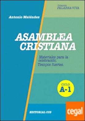 Asamblea cristiana. Ciclo A-1 . Celebraciones dominicales. Tiempos fuertes