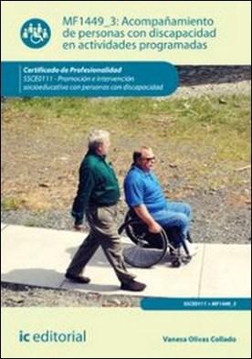 Acompañamiento de personas con discapacidad en actividades programadas