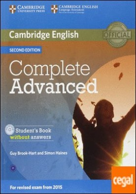 Complete Advanced Student's Book without Answers with CD-ROM 2nd Edition