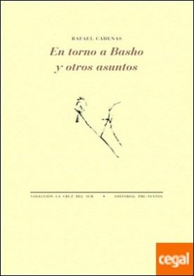En torno a Basho y otros asuntos