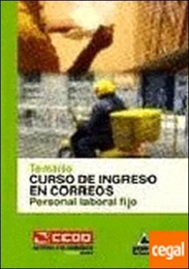 Curso de Ingreso en Correos, personal laboral fijo. Temario