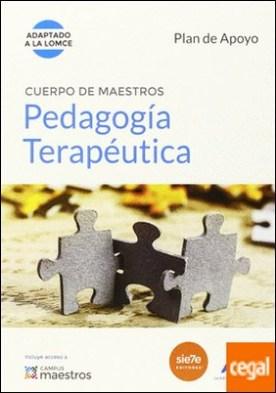 Cuerpo de Maestros Pedagogía Terapéutica. Plan de Apoyo . Adaptado a la LOMCE por CENTRO DE ESTUDIOS VECTOR, S.L. PDF