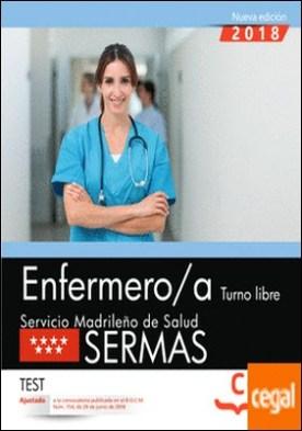 Enfermero/a. Turno libre. Servicio Madrileño de Salud (SERMAS). Test