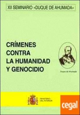 Crímenes contra la humanidad y genocidio