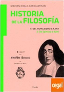 Del Humanismo a Kant 2 . de Spinoza a Kant
