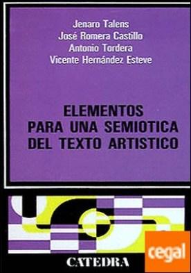 Elementos para una semiótica del texto artístico