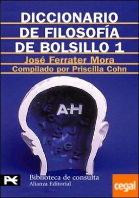 Diccionario de Filosofía de bolsillo 1 . (A-H)