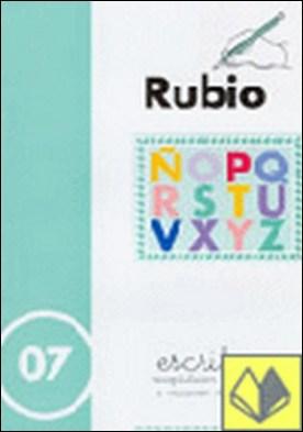 Escritura Rubio, n. 07