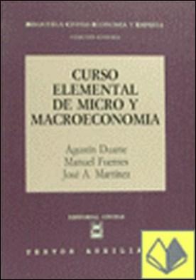 CURSO ELEMENTAL DE MICRO Y MACROECONOMÍA