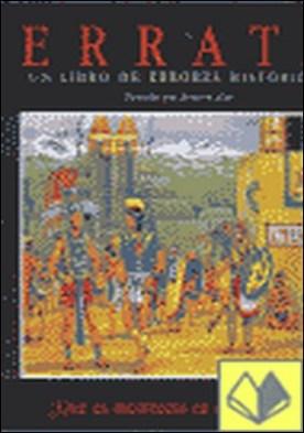 Errata . un libro de errores históricos