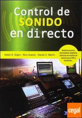 Control de sonido en directo por G. Digón, Albert PDF