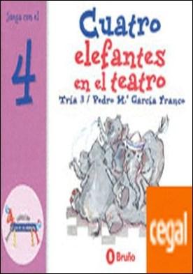 Cuatro elefantes en el teatro . Juega con el 4