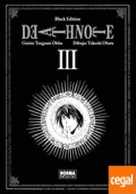 Death Note, Black edition 3 . (Black Edition incluye vols 5 y 5)