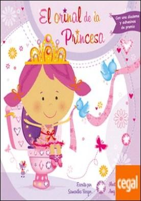 El orinal de la princesa . Con una diadema y adhesivos de premio