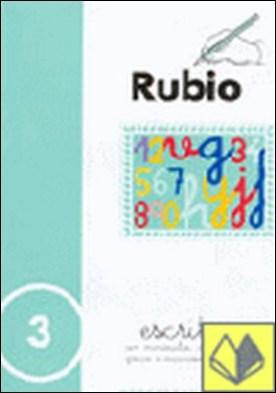 Escritura Rubio, n. 3