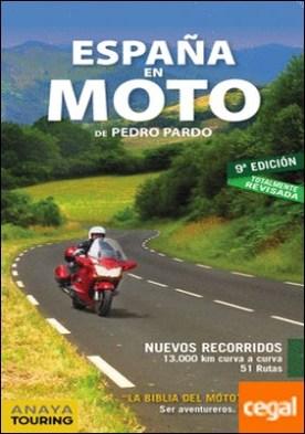 España en moto por Anaya Touring