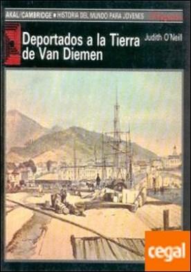 Deportados a la tierra de Van Diemen
