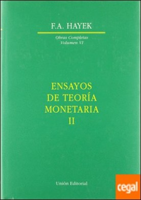 Ensayos de teoría monetaria II