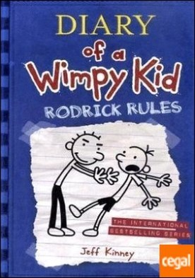 Diary of a wimpy kid #2: rodrick rules . Diary of Wimpy kid
