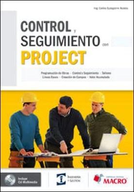 Control y seguimientos con Project