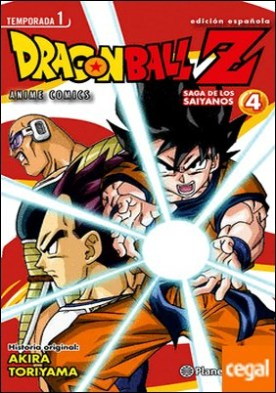 Dragon Ball Z Anime Series Saiyanos nº 04/05 . Saga de los Saiyanos