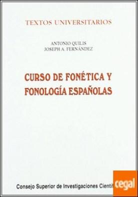 Curso de fonética y fonología españolas . Para estudiantes angloamericanos