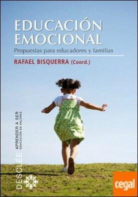 Educación emocional . Propuestas para educadores y familias